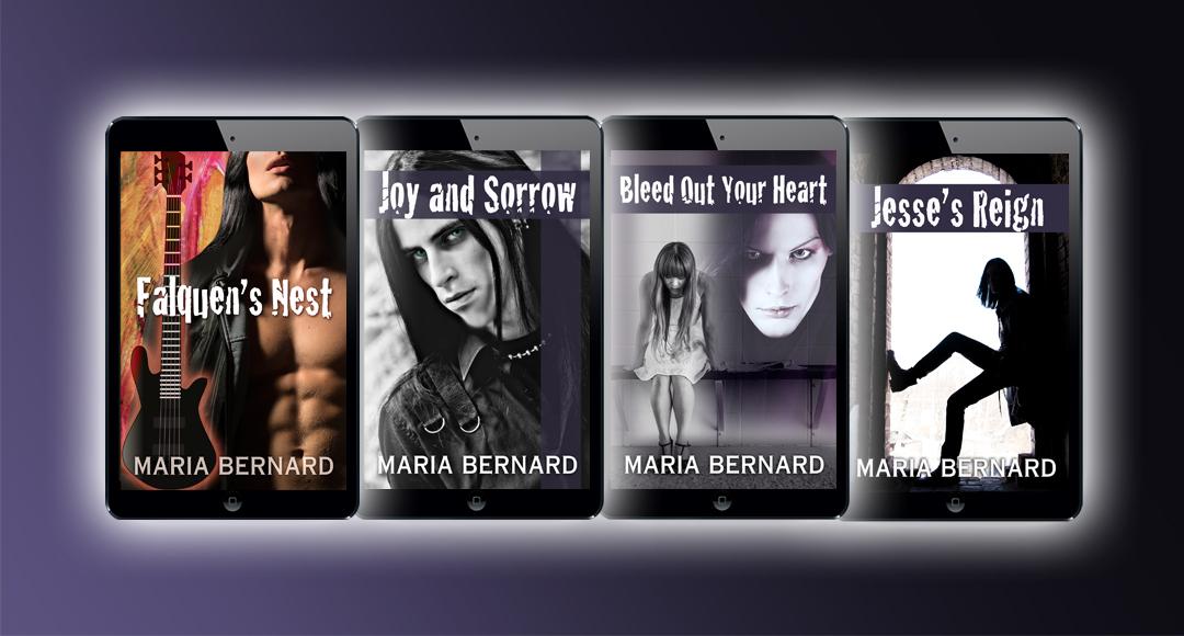 These Bones Series by Maria Bernard