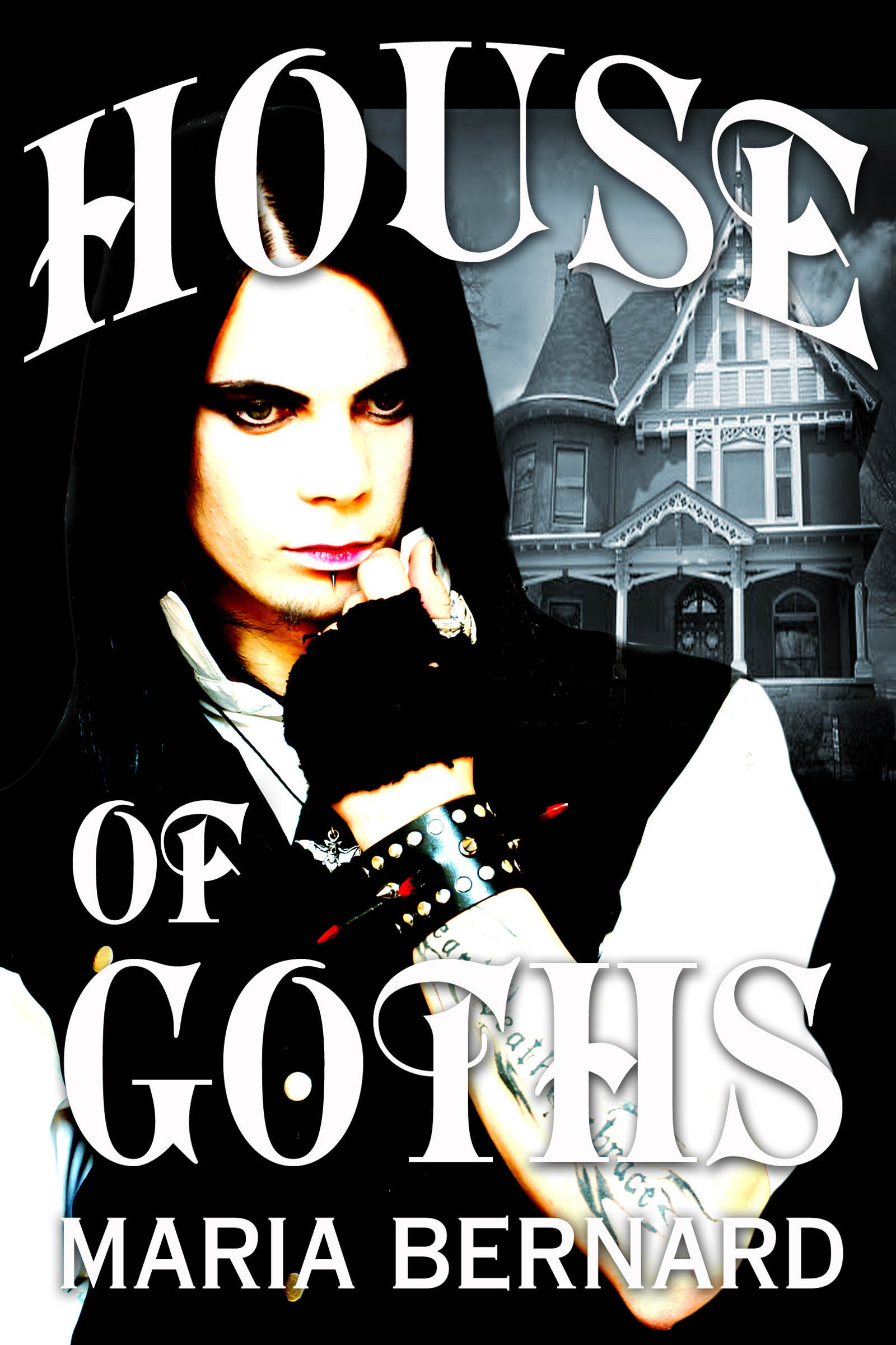Book Cover House of Goths Maria Bernard